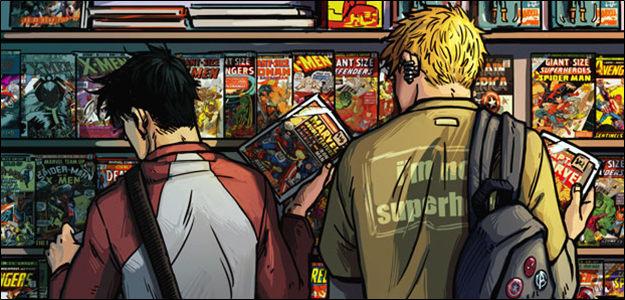 Imatge relativa al món del còmic.