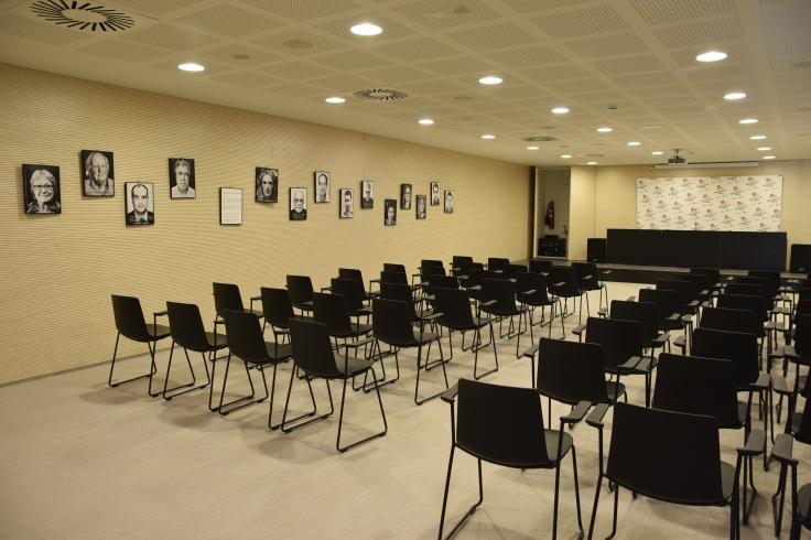 Imatge de la sala Joana Raspall de la biblioteca.