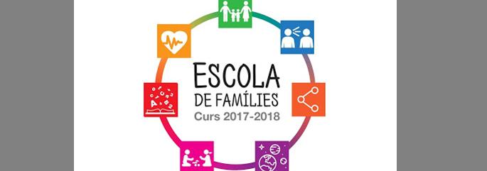 Logotip del programa Escola de famílies