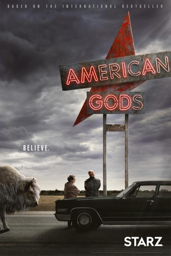 Cartell de la sèrie de TV American Gods