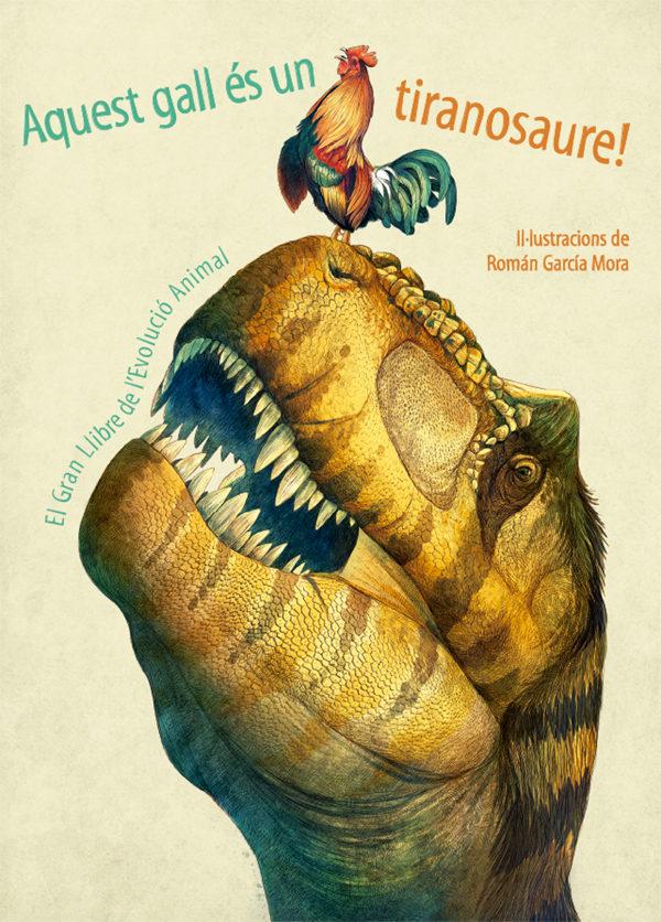 Portada del llibre Aquest gall es un dinosaure