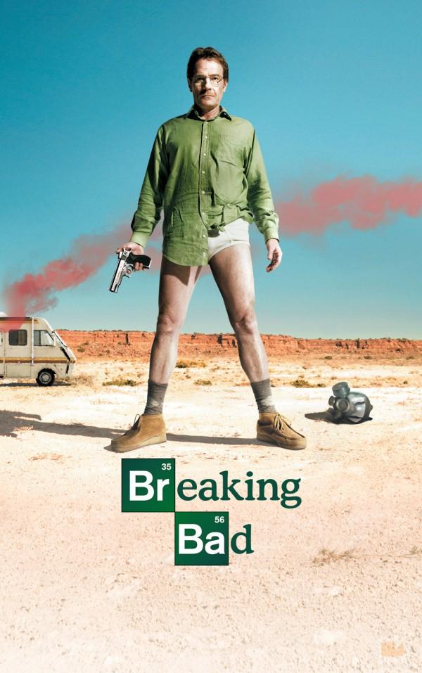 Cartell de la sèrie de TV Breaking bad