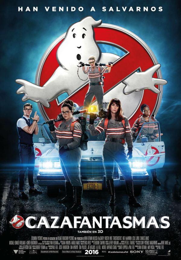 Cartell de la pel·lícula Cazafantasmas