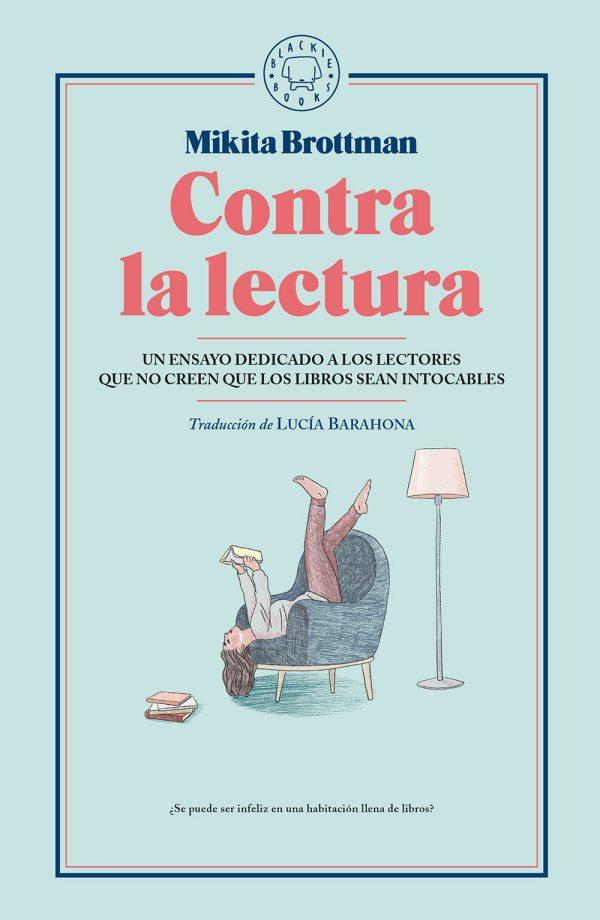 Portada del llibre Contra la lectura