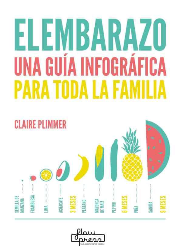 Portada del llibre El embarazo una guía infográfica para toda la familia