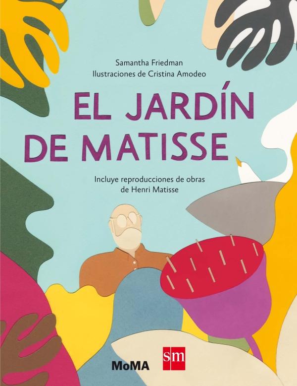 Portada del llibre El jardín de Matisse