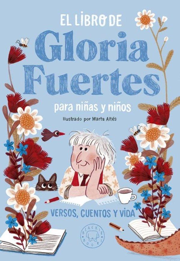 Portada del llibre El libro de Gloria Fuertes para niñas y niños