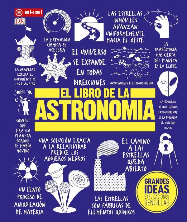 Portada del llibre El libro de la astronomía