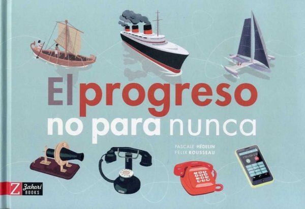 Portada del llibre El progreso no para nunca