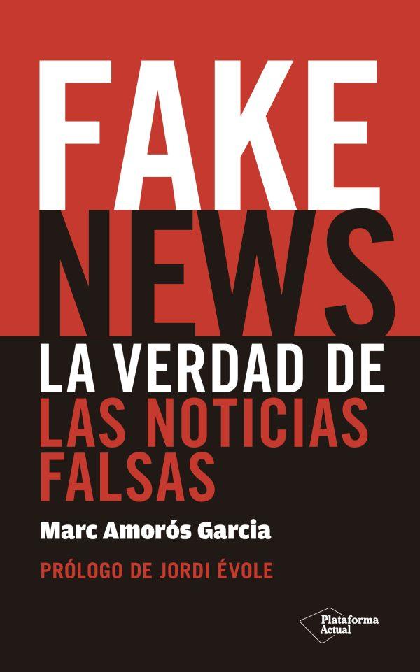 Portada del llibre Fake news