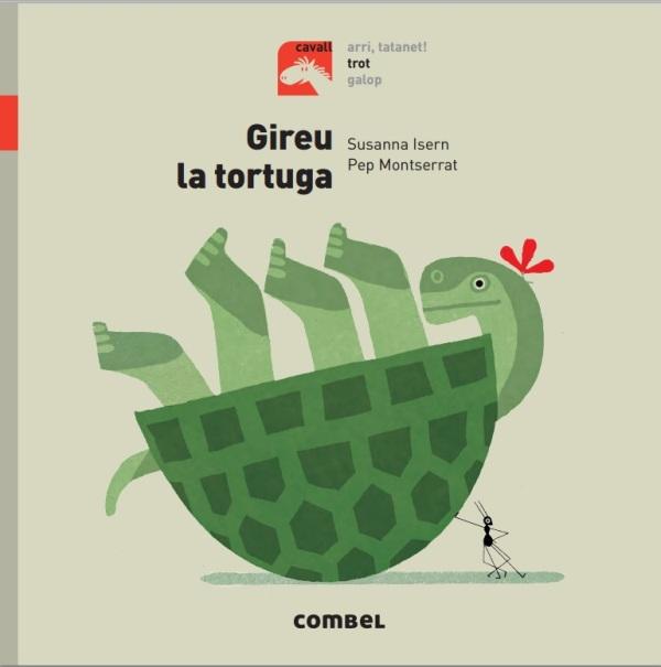Portada del llibre Gireu la tortuga
