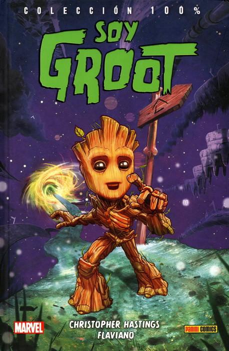 Portada del llibre Soy Groot