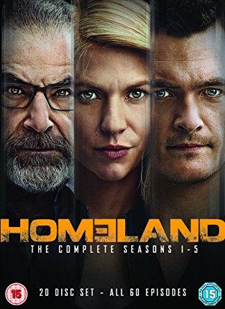 Cartell de la sèrie de TV Homeland