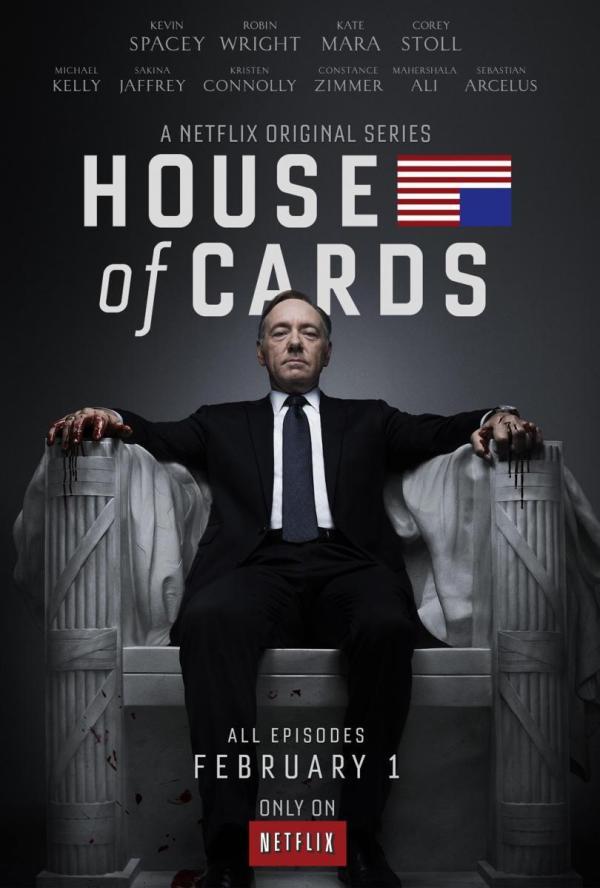 Cartell de la sèrie de TV House of cards