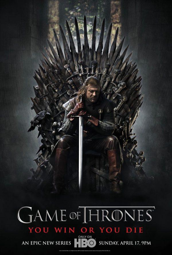 Cartell de la sèrie de TV Juego de tronos