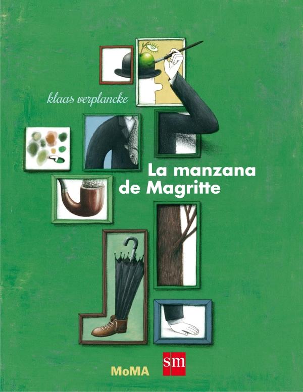 Portada del llibre La manzana de Magrite