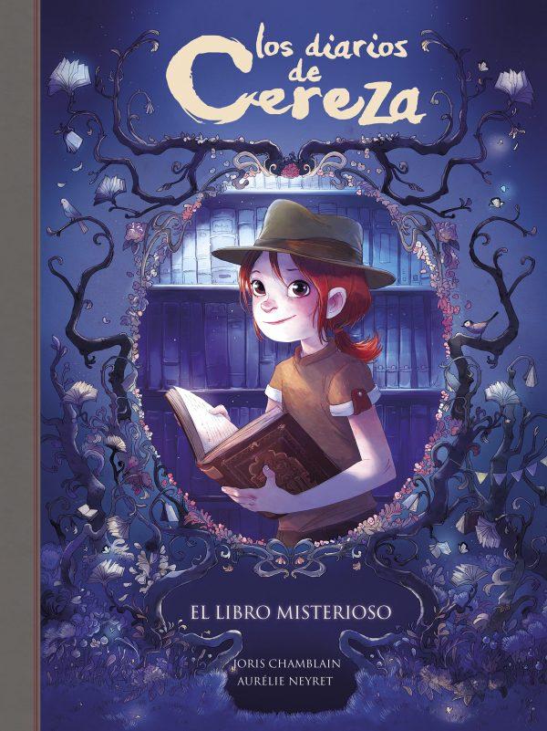 Portada del llibre Los diarios de cereza el libro misterioso