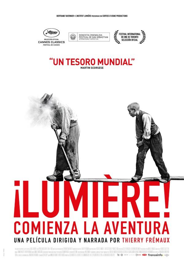 Cartell de la pel·lícula ¡Lumiere! Comienza la aventura