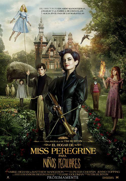 Cartell de la pel·lícula El hogar de miss Peregrine para niños peculiares