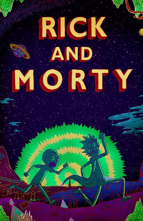 Cartell de la sèrie de TV Rick and Morty