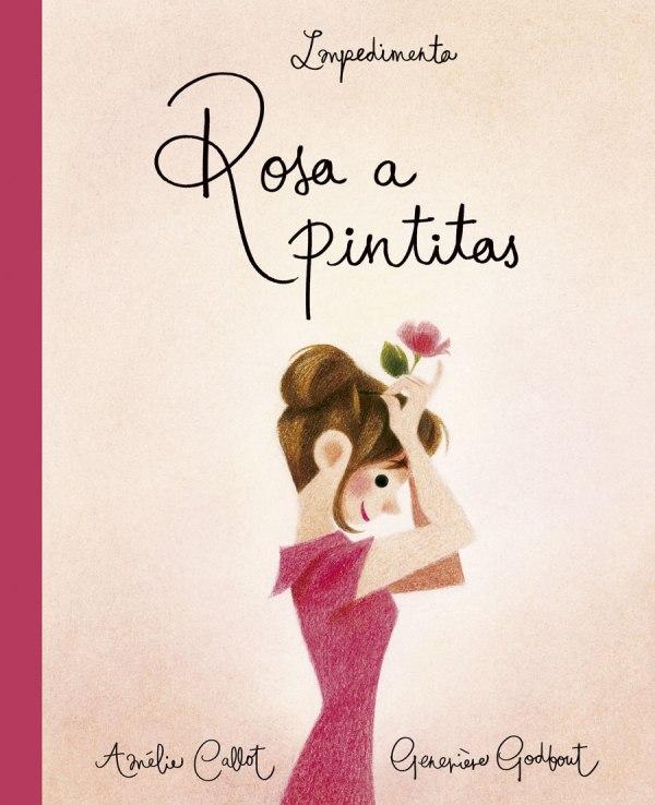 Portada del llibre Rosa a pintitas