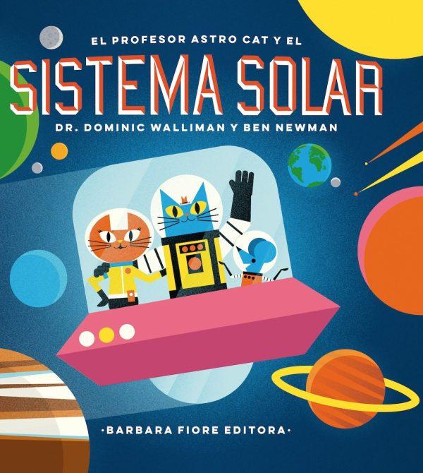Portada del llibre El profesor Astro cat y el sistema solar