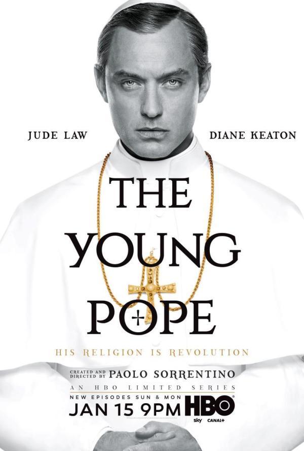 Cartell de la sèrie The young Pope
