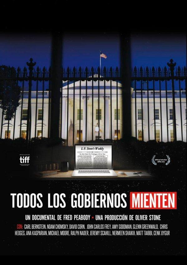 Cartell de la pel·lícula Todos los gobiernos mienten