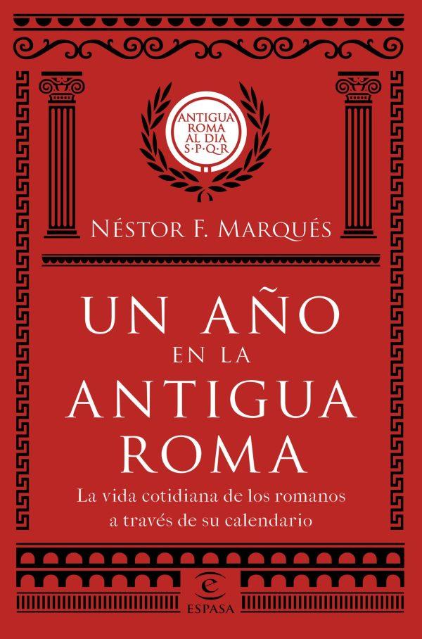 Portada del llibre Un año en la antigua Roma