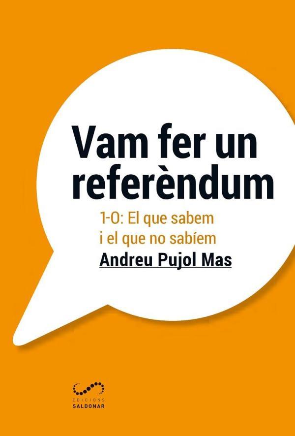 Portada del llibre Vam fer un referèndum