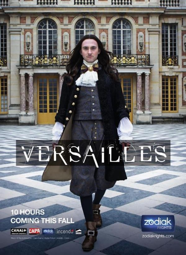 Cartell de la sèrie de TV Versailles