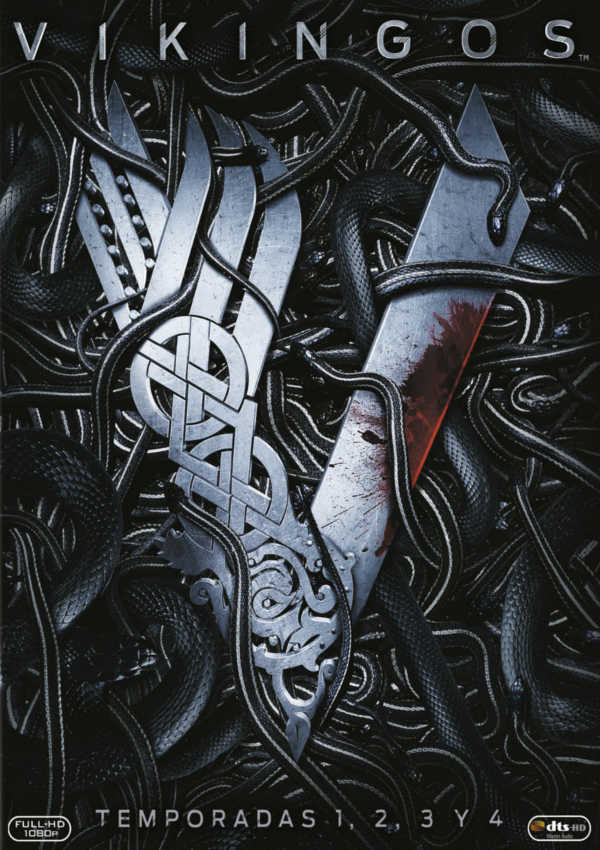 Cartell de la sèrie de TV Vikingos