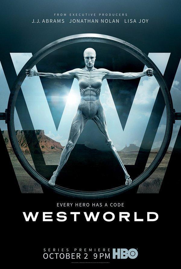 Cartell de la sèrie de TV Westworld
