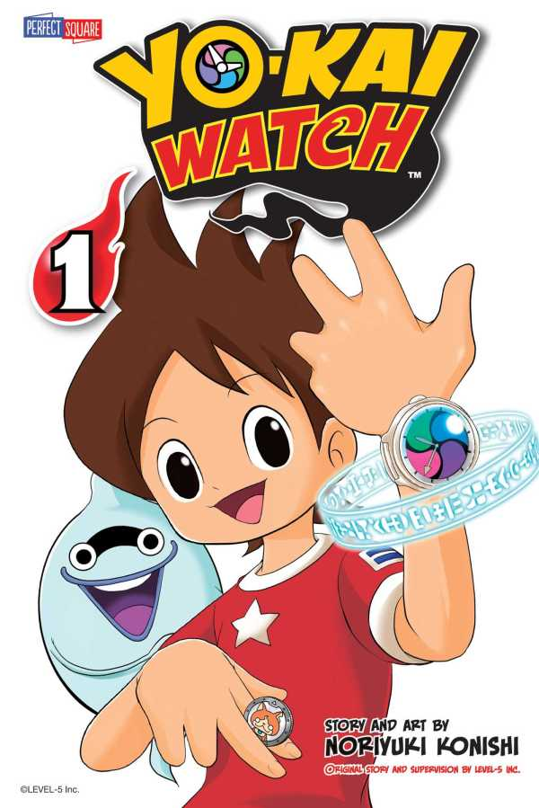 Portada del llibre Yo-Kai Watch