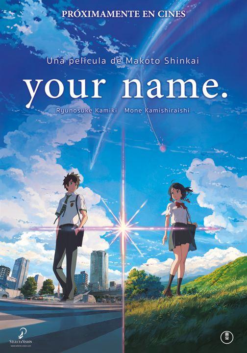 Cartell de la pel·lícula Your name