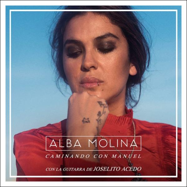 """Portada del CD """"Caminando con Manuel"""" d'Alba Molina"""