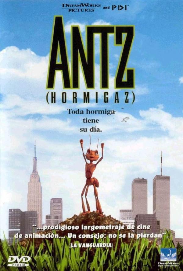 Imatge del cartell de la pel·lícula infantil Antz