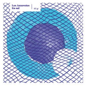 """Portada del CD """"En sal"""" de Les Anxovetes"""