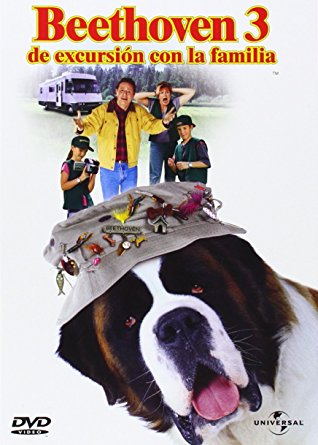 Imatge del cartell de la pel·lícula infantil Beethoven 3. De excursión con la familia