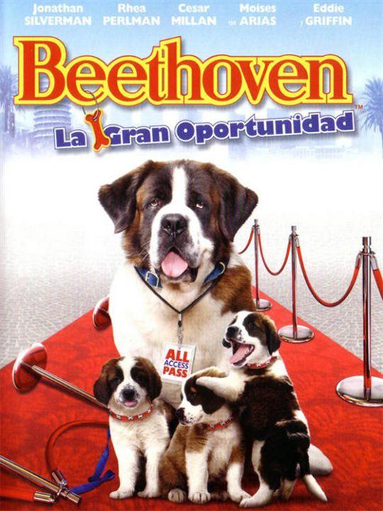 Imatge del cartell de la pel·lícula infantil Beethoven. La gran oportunidad