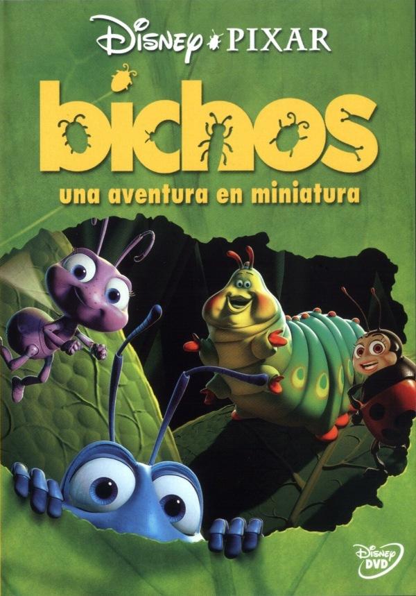 Imatge del cartell de la pel·lícula infantil Bichos