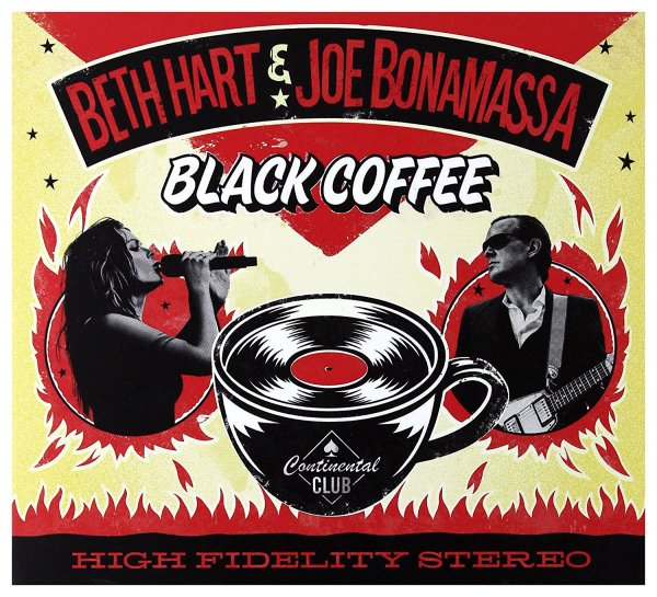 "Portada del CD ""Black coffee"" de Beth Hart & Joe Bonamassa"