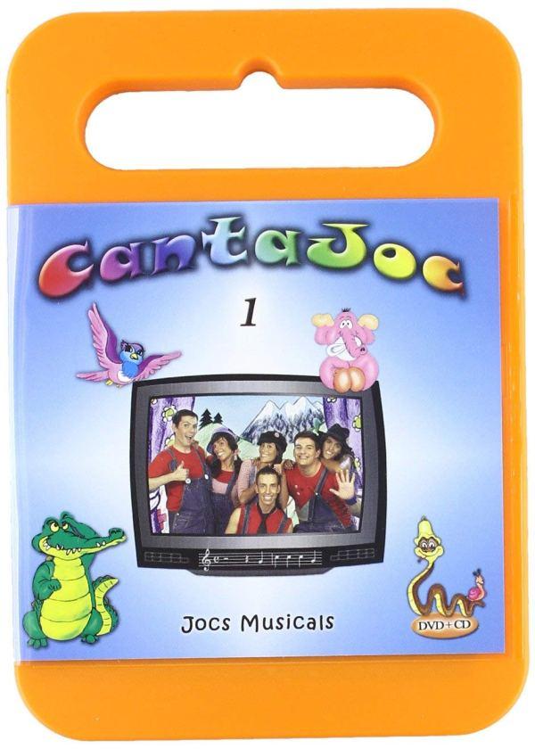 Imatge del cartell de la pel·lícula infantil Cantajoc
