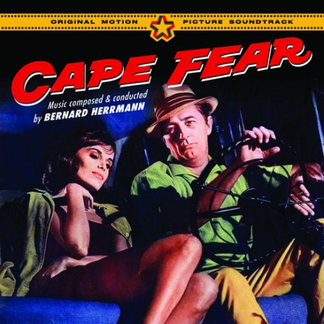 "Portada del CD de la BSO ""Cape Fear"""