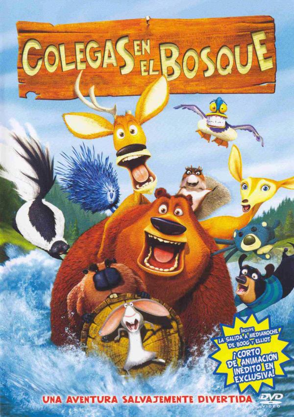 Imatge del cartell de la pel·lícula infantil Colegas en el bosque