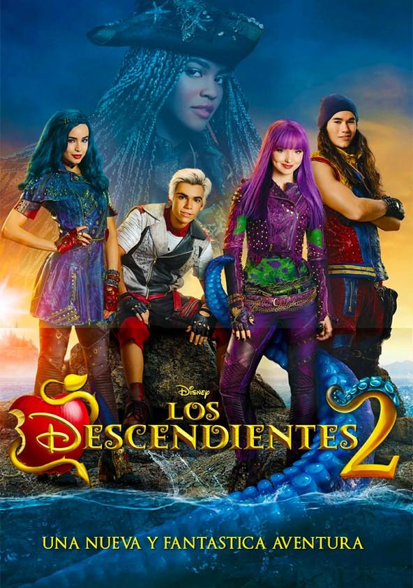 Imatge del cartell de la pel·lícula infantil Los Descendientes 2