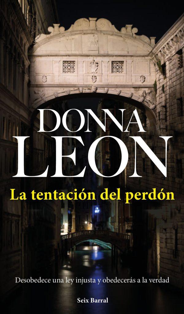 Imatge de la portada de la novel·la La tentación del perdón