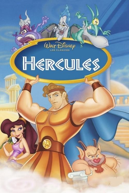 Imatge del cartell de la pel·lícula infantil Hércules