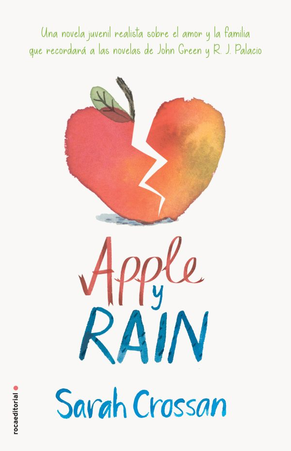 Imatge de la portada de la novel·la juvenil Apple y Rain
