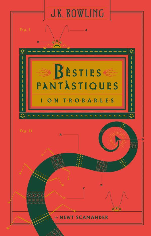 Imatge de la portada de la novel·la juvenil Bèsties fantàstiques i on trobar-les